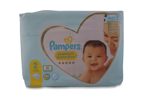 Pampers Windeln Premium Protection New Baby Gr.2 32St