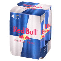 Red Bull Energy Drink 4 x 0,25l